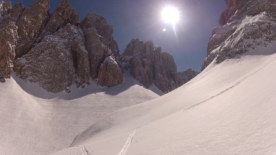 Absolutely stoked by the scenrey of Val de Mesdi