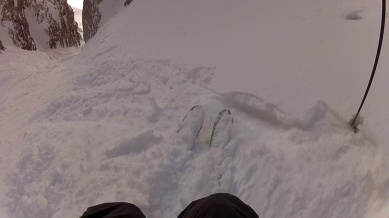 but there are still some sections with good snow