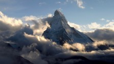 Matterhorn at late evening
