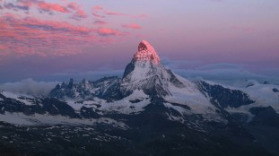 Matterhorn in dawn light