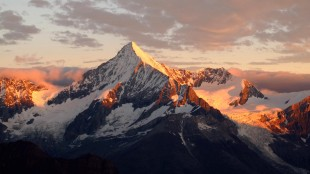 The majestic Weisshorn in first light