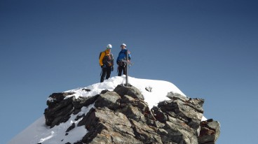Zermatt locals allready on top