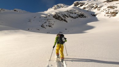 Going for the untracked sidecountry