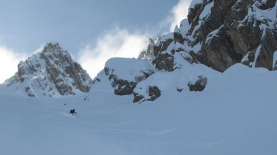 Nice to ski (when there is no avalanche debris underneath)