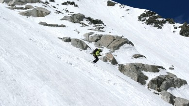 Fast turns on excelent snow, © Colin Campbell