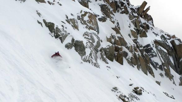 Andi skiing